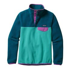 W'S LW SYNCH SNAP-T P/O, Howling Turquoise (HWLT)