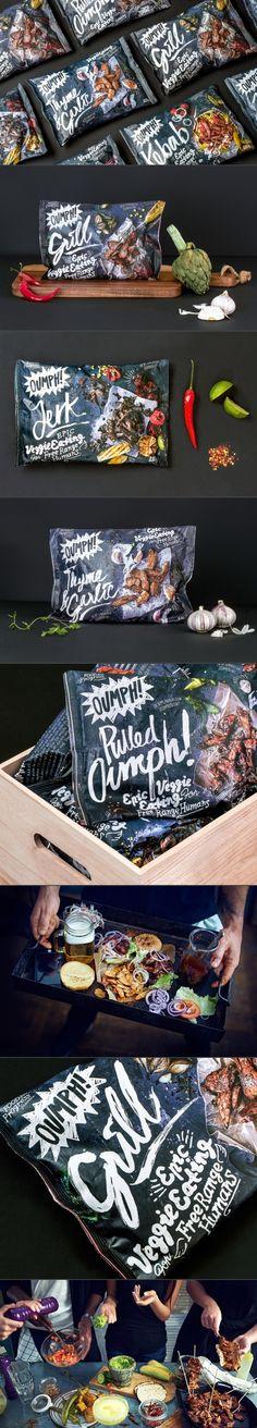 Unique packaging design. Oumph!