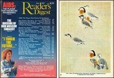 Reader's Digest front and back cover, June 1987  Art Director:Richard J. Berenson   richard j. berenson | Tumblr