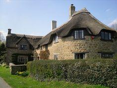 Ilton, Somerset, where my grandma and grandpa lived