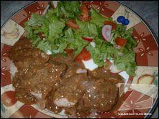 Filet de porc à l'oignon