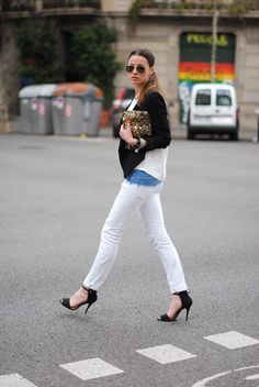 I'm loving this outgoing chic look, every bit of it! Most from Zara collection.. and the shades from rayban adds the edgy look.    source : http://fashionvibe.net/