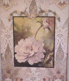 Antique Peony Watercoloring