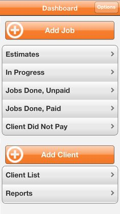 Our #iPhone #App #Dashboard to quickly access what you need.