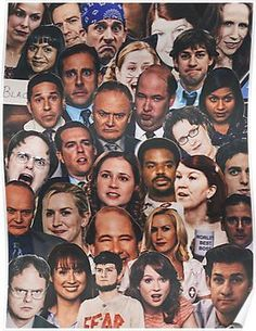 The Office Collage Poster