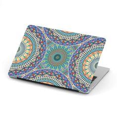 Ornamental Sky Blue MacBook Case – This is iT Original Mac Book Air Case, Macbook 12, Shells, Custom Design, Ornaments, Wallet, Blue, Lovers, Mandala