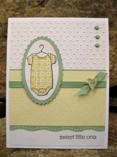 Sweet Little One by catcrazy - Cards and Paper Crafts at Splitcoaststampers