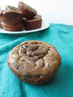 Almond Butter Banana Blender Muffins #VeggieStaples