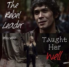 Bellarke. He looks so proud of his princess in that picture!!!!!