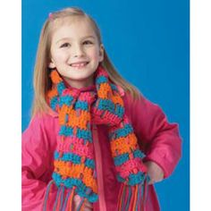 Free Child's Scarf Crochet Pattern