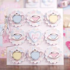 Craftwork Cards Love a Cuppa Collection Card Making Inspiration, Making Ideas, Craftwork Cards, Coffee Cards, Birthday Cards For Women, Embossed Cards, Create And Craft, Card Envelopes, Fall Cards