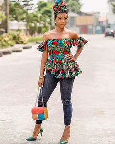 2019 Latest and Beautiful Ankara Gown Styles - Naija's Daily Ankara Long Gown Styles, Ankara Short Gown Styles, Trendy Ankara Styles, Short Gowns, African Fashion Ankara, African Print Fashion, African Dress, African Outfits, Classy Short Dresses