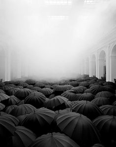 Infinite umbrellas.