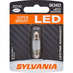 Bright LED Bulb SYLVANIA Contains 2 Bulbs and Back-Up//Reverse Lights Ideal for Daytime Running Lights DRL 1141 ZEVO LED White Bulb