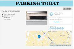 wesmartPark Parking - Garage CATEDRAL - Ubicación: Sagristans 6. Únete a la #parkvolucion y a la economía colaborativa!