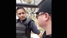 Activista se niega a pagar IVA en gasolinera y graba VIDEO de abuso policíaco en Guanajuato
