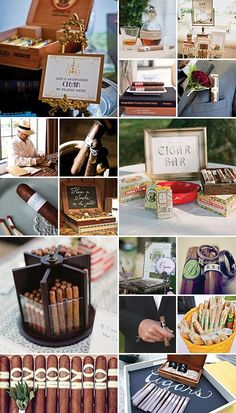 misc cigar help wedding party