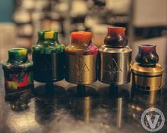 Resin Slam Caps by 528 Custom Vapes and Acrylic Drip Tips can transform your Goon into a new masterpiece when thrown onto your Goon RDA. If these aren't your type of flavor, we have hundreds of other drip tips available so you can put a bit of personality in your vape!