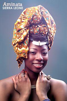 Miss Afrique Montréal // AMINATA - SIERRA LEONE