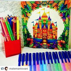 Instagram media jardimsecretoterapia - #Repost @matemantovani ・・・  Castelo…