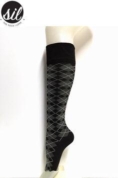 Up to The Knee Argyle pattern socks  www.socksforafrica.co.za  #sil #soocksforafrica #thesockilove #uptotheknee #argyle