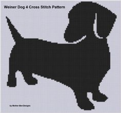 Amazon.com: Weiner Dog 4 Cross Stitch Pattern eBook: Mother Bee Designs: Kindle Store