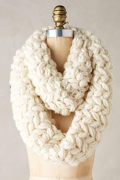Beautiful chunky infinity scarf - on sale for $22.50 with code:  TAGTIME