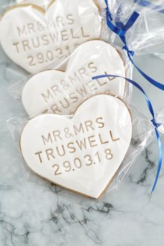 Personalised Biscuits, Personalized Cookies, Personalized Wedding Favors, Personalised Gifts, Biscuit Wedding Favours, Wedding Favor Table, Wedding Cookies, Bonbonniere Ideas, Iced Biscuits