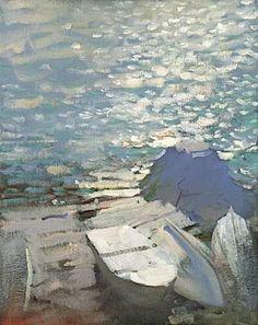 Por amor al arte: Bato Dugarzhapov Paintings I Love, Seascape Paintings, Landscape Art, Landscape Paintings, Russian Art, Love Art, Contemporary Art, Art Photography, Art Gallery