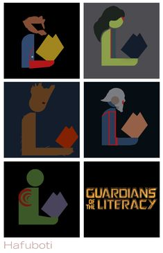 Anybody else really excited aboutGuardians of the Galaxycoming out this week? In honor of the occasion,Bruce and I collaborated onanother library logo mashup! I'll be the first to admit t…