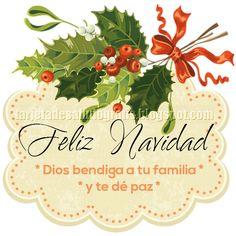 Imagen de Navidad con mensaje cristiano para imprimir