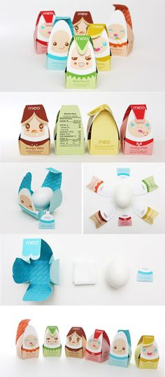 MEO EGG PACKAGING DESIGN BY CHI HEY LEE. PD