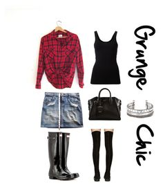 """""""Grunge chic"""" by agg-72104 ❤ liked on Polyvore"""