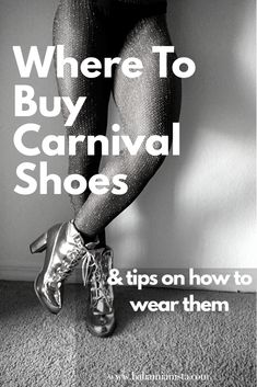Where To Buy Carnival Shoes & Tips On How To Wear Them  #planningforcarnival #carnival #carnivalparty #carnivalcostume #caribbeancarnival #carnivalshoes
