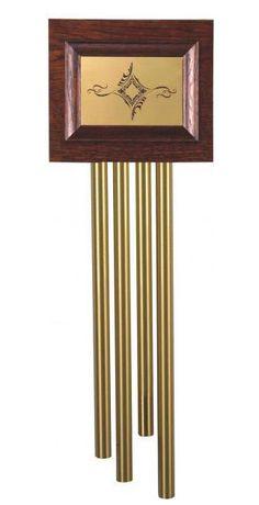 Tube Door Chime Doorbell Brass Tubular Wood Vintage Long Pipe Bell Mains  240V