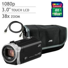 Costco: JVC Everio GZ-EX515 Camcorder Bundle