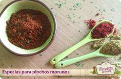 Mezcla de especias para los pinchos morunos (de cordero o ternera) -  Los pinchos de cordero son indispensables dentro de la gastronomía magrebí, son muy fáciles de preparar, tan solo debemos conocer la mezcla de especias y cocinarlos a la barbacoa ¡Riquísimos!. Hoy os traigo la mezcla de especias para los pinchos morunos, que igual pueden servir con cordero que c... - http://www.lasrecetascocina.com/2013/11/02/mezcla-de-especias-para-los-pinchos-morunos-de-cordero-o-ter
