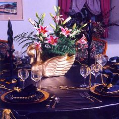CARMEL VALLEY CALIFORNIA - Fine Table Setting Rental