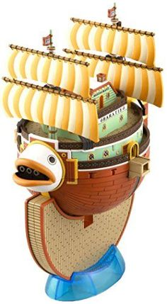 Watercraft Model Kits - Bandai Hobby 10 Grand Ship Collection Baratie One Piece Model Kit ** To view further for this item, visit the image link.
