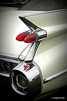 A beautiful classic Cadillac!  Photo Insert Note Card by dsigns on Etsy