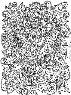 Happy Colouring Page By WelshPixiedeviantart On DeviantArt