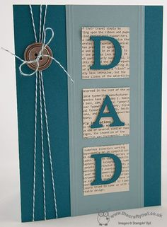 Father's Day is fast approaching and it's time to start thinking about Fathe… – Fathers day cards handmade – Vatertag Fathers Day Cards Handmade, Greeting Cards Handmade, Boy Cards, Cute Cards, Diy Father's Day Cards, Men's Cards, Tarjetas Diy, Karten Diy, Birthday Cards For Men