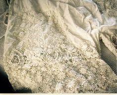 Antique lace underwear !