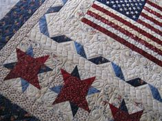 I may also have this quilt in Quilts, may even also have it in Red. It's just beautiful. Can't have too much of it.