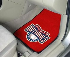 MLB - Washington Nationals 2 Piece Front Car Mats