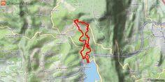 [Savoie] VTT-FFCT du pays du lac d'Aiguebelette - Parcours N°4 - Les Villas Doria Circuit VTT balisé n°3 puis 4.  Du rond-point, longer la départementale direction Novalaise sur 200 m. 50 m après le pont sur la Leysse, prendre le sentier à droite vers le nord (dos au lac). Après avoir longé la Leysse sur chemins, vous rejoignez la route de la plaine du lac très fréquentée pour passer sous l'autoroute. Attention, il est préférable de s'arrêter avant de traverser et retrouver à nouveau les…