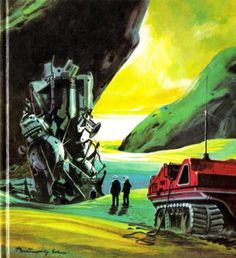 Beautifully illustrated sci-fi covers from Germany, 1969-1981