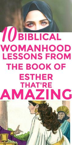 Totally LOVED these 10 hidden GEMS from the Book of Esther! I'm SO glad I found this GREAT 10 Biblical womanhood lessons from the amazing book of Esther. I'm MIND-BLOWN. Every Christian woman must know this! Glory to God! #bookofEsther #Biblicalwomanhood | Biblical women | Biblical womanhood | Bible studies for women | Biblical Esther