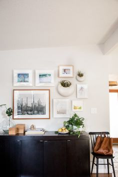 Our Dining Room: A Gallery Wall - Hither & Thither