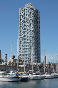 Hotel Arts Barcelona, View from Marina   Robb Report 100 Best Hotels